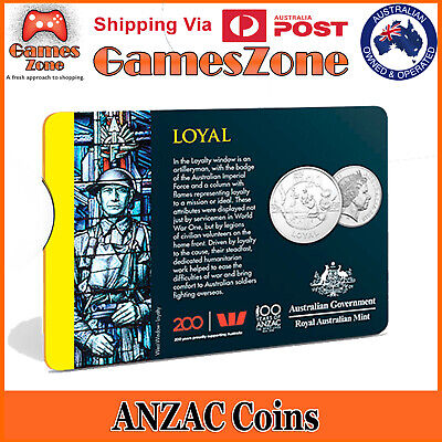Official 2018 ANZAC Spirit Coin Collection - Loyal Free Postage