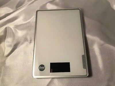 FOOD NETWORK Digital LCD Kitchen Scale-Weigh 11lbs/5k Diet-Nutrition-Postal