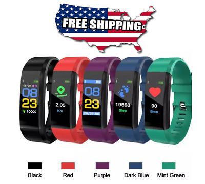 Fitbit Style Waterproof Fitness Activity Tracker Smart Watch Heart Rate charge