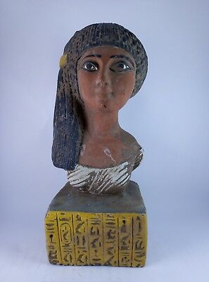 RARE ANTIQUE ANCIENT EGYPTIAN Statue Pharaoh Queen Meritaten Akenaten 1356 Bc