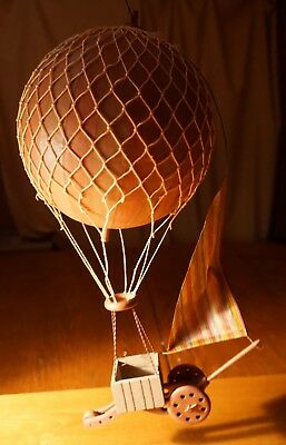 Hot Air Balloon Hanging Rustic Steampunk Vintage Style Bedroom Home Decor