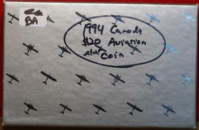 Uncirculated 1994 Canada Aviation $20 Silver Foreign Coin