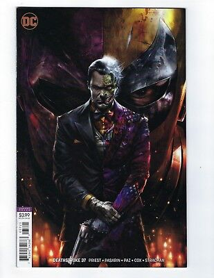 Deathstroke # 37 Mattina Variant Cover NM DC