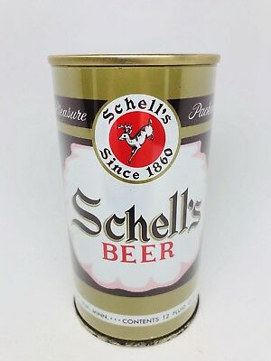 Schell's Beer - Early Ring Pull Can. New Ulm, Minnesota - Mid 60's MN can