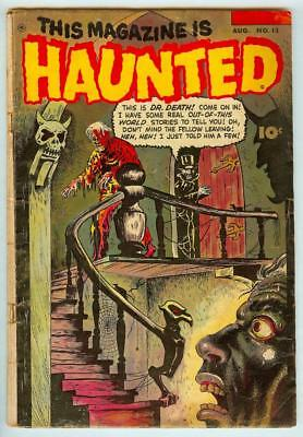 This Magazine is Haunted #12 Fawcett 1953 Pre-Code Horror Cover - 2.5 Good+