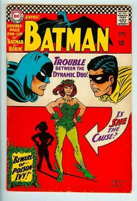 Batman #181 - 1st Appearance of Poison Ivy - Pin-up Included - 4.5 Very Good+