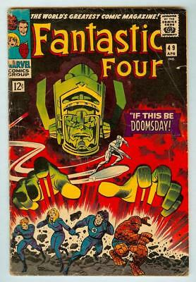 Fantastic Four #49 - 1st Appearance of Galactus - 3.0 Good/Very Good