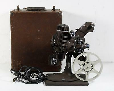 Vintage Bell & Howell Fimo Master Projector W/ Reel and Case Works