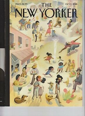 Lower East Side The New Yorker Magazine October 2018 No Label Russia Trump