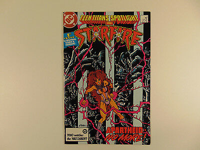 Teen Titans Spotlight #1 Aug 1986 (Starfire) high grade