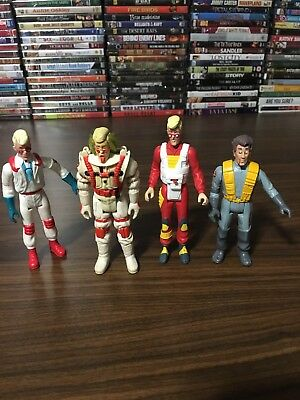 Vintage 1988 Ghostbusters Loose Lot Of 4 Action Figures