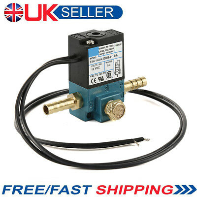 UK 3 Port DC 12V Electronic Boost Control Solenoid Valve For ECU 3-Port PWM ad0