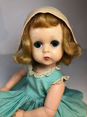 Vintage Lissy Doll in Tagged Outfit!!! Includes Doll Dress Hat & Bloomers!! CUTE