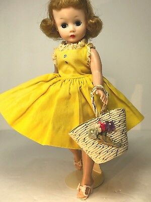 Sexy Cissette!! Vintage Madame Alexander doll with Original Tagged dress +extras