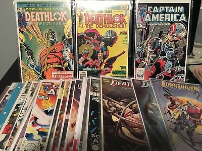 Deathlok Huge Issue 28 Lot Astonishing Tales Mini Series Rare Appearances + More