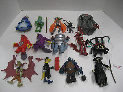 2012 Teenage Mutant Ninja turtles Lot of 13 figures all 100% complete