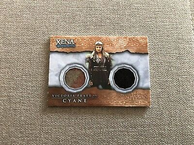 "Xena Beauty & Brawn Costume Card: Cyane DC2 From ""Adventures In The Sin Trade"""