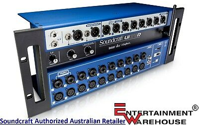 Soundcraft Ui24R 24-channel Digital Mixer with USB and Multi-Track Recorder