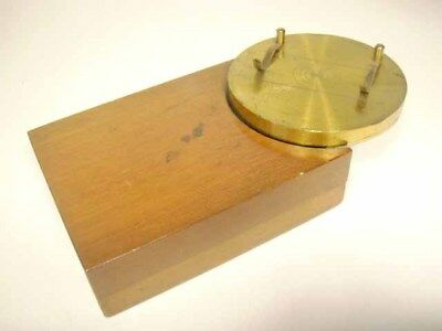 Microscope Accessory: Ringing Table