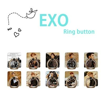 KPOP EXO Don't Mess Up My Tempo Mobile Phone Stand Holder Adjustable Finger Ring