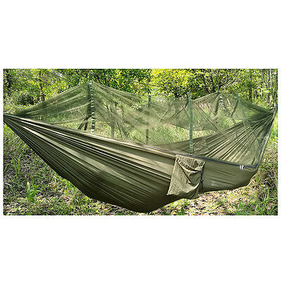 Travel New Outdoor Camping Double Person Tent Hanging Hammock Bed Mosquito Net