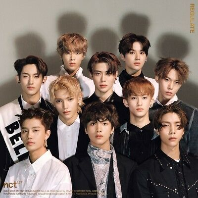 NCT 127 - NCT #127 Regulate [Random ver.] CD+Folded Poster+Free Gift+Tracking no