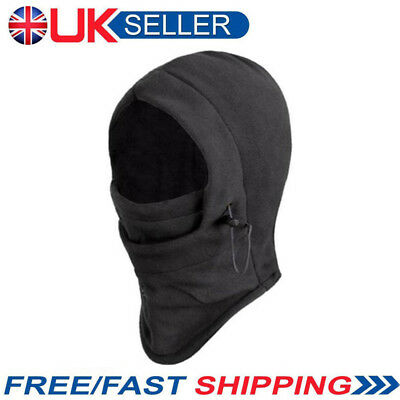 Motorcycle Ski Full Face Mask Cycling Outdoor Balaclava Neck Ultra Hat UK
