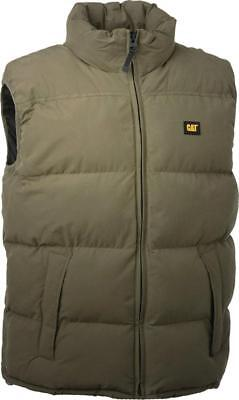 Caterpillar C430 Unisex Mens Ladies Warm Insulated Sport Body Warmer Gilet Olive