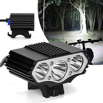 12000Lm/6000Lm T6 LED Bike Bicycle Head Lamp Headlight USB Charge Cycling Torch