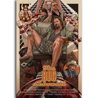 Z-1205 The Big Lebowski Hot Classic 1998 Vintage Movie Poster Wall Art Decor