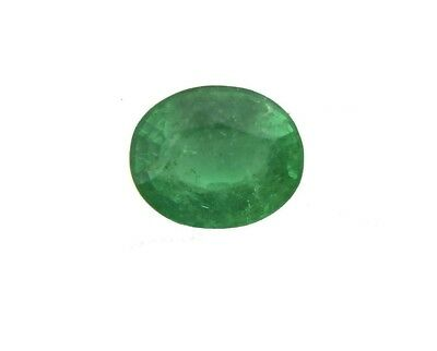 8.2X7MM Natural Colombian Emerald Good Green 1.69Cts Oval Cut Loose Gemstone