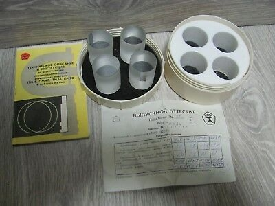 Glass Optical Flat Parallel Set 40 mm to testing micrometer 25-50 mm NEW USSR