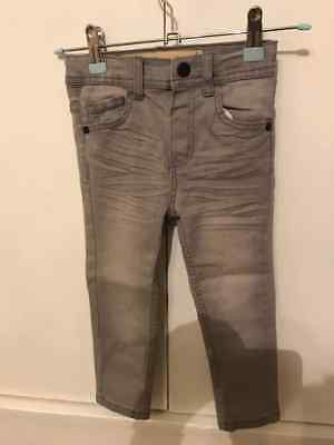 boys jeans age 3/4 colour grey skinny fit