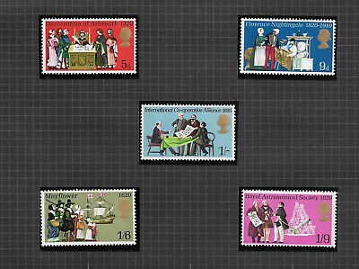 GB 1970 SG819-823 Anniversaries And Events MNH