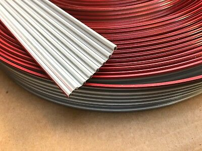 3M FLAT RIBBON CABLE 8132/8 (8 x 18AWG Conductor) 100ft 30.5m Roll Reel PCB