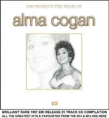 Alma Cogan - The Very Best Essential 25 Greatest Hits Collection CD - 50's 60's