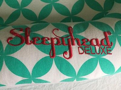 Sleepyhead Deluxe with Spare Cover, Plain White Cover & Bright Patterned Cover