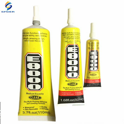 SFD E8000 Clear Adhesive Sealant Glue for DIY Diamond Shoes Paste Jewelry Craft