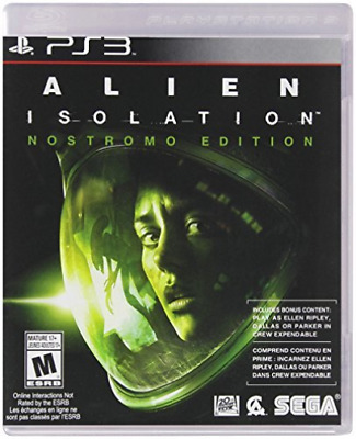 Ps3 Action-Alien: Isolation The Nostromo Edition Ps3 New