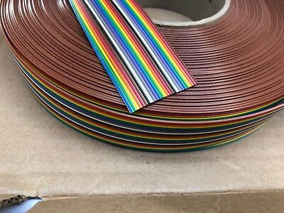 3M FLAT RIBBON CABLE 3302/26SF (26 x 28AWG Conductor) 100ft 30.5m Roll Reel PCB