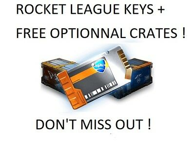 [PS4] Rocket League Keys + Optional Free Crates !! Fast Delivery