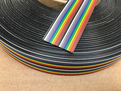 3M FLAT RIBBON CABLE 3302/20SF (20 x 28AWG Conductor) 86ft Roll Reel PCB