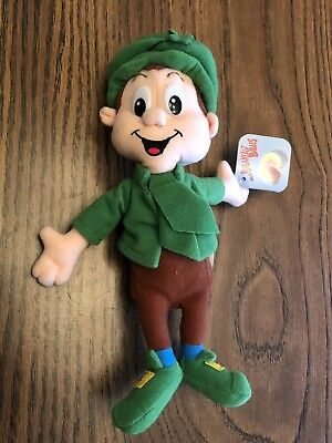 General Mills Breakfast Pals LUCKY CHARMS Leprechaun Plush 1997 With Tags