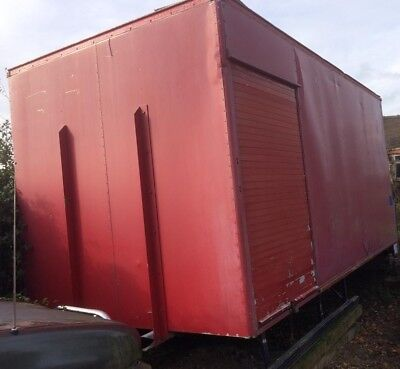 *lorry Body - Container - Shed - Storage - Aluminium - Tail-Lift - No Leaks!*