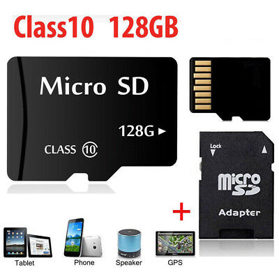 MICRO SD-Karte 128GB CLASS 10 MEMORY CARD 128GB MIT ADAPTER MICRO-SD CARD 128GB