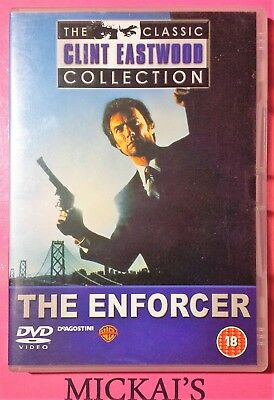 THE ENFORCER - CLASSIC CLINT EASTWOOD COLLECTION CCECN08 DeAGOSTINI DVD PAL