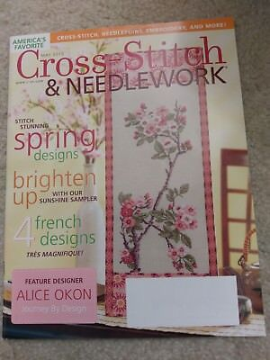 pre-owned Cross-stitch & Needlework Magazine May 2010 excellent condition