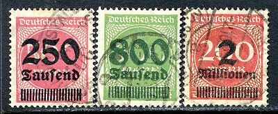 Germany Postage Stamps Scott 259, 266, 269, Used Partial Set!! G662