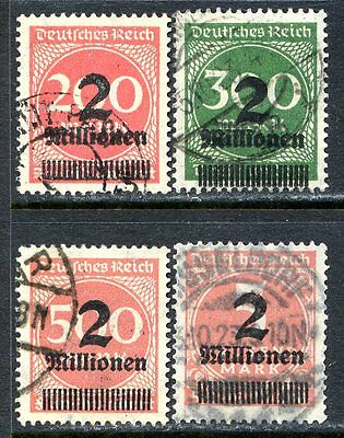 Germany Postage Stamps Scott 269-272, Used Partial Set!! G657