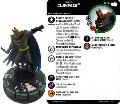 DC Heroclix - Batman: The Animated Series - CLAYFACE #001b Prime